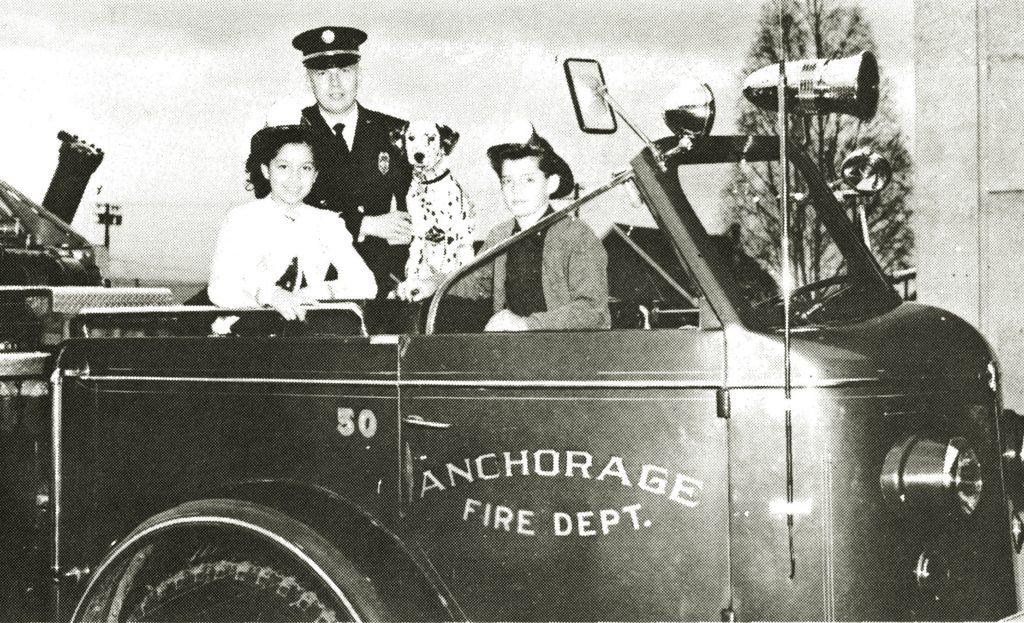 Dalmatiner bei der Feuerwehr 1963